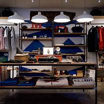 retail clothing shop displays