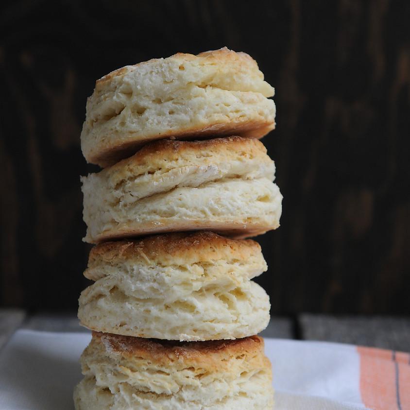 Kids & Teens: Brown Butter Biscuits - 10 am