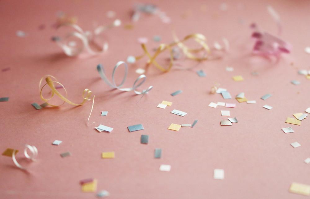 sustainable confetti