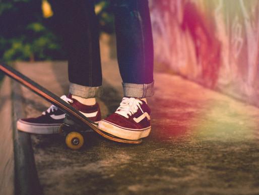 Обучение на скейте