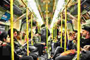 A full metro.