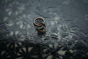 Rings in rain