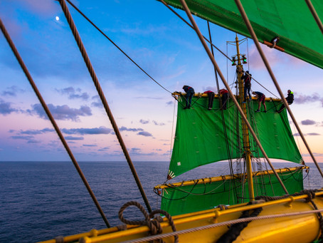 Ocean Literacy in Sail Training: What is it about?