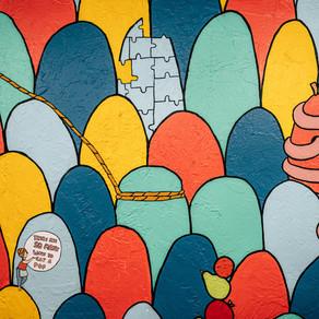 A Melancholy Cartoon Backdrop by Alex Albatross
