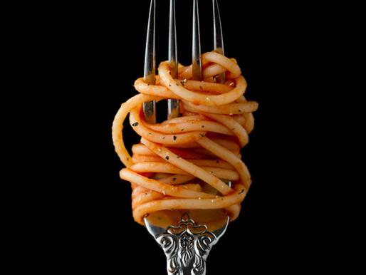 Pasta, hvidløg, chili og persille