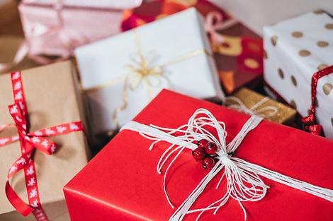 Rozdawanie prezentów w Wigilię