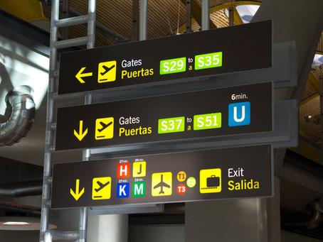 Análise da sinalização aeroportuária através da percepção do usuário