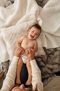 Happy Baby at Pediatric Dentist in Arlington VA