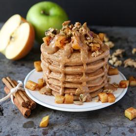 Healthy Apple-Cinnamon Pancakes That Won't Leave You Feeling Remorseful