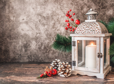 Free Spells - Yule blessing candle