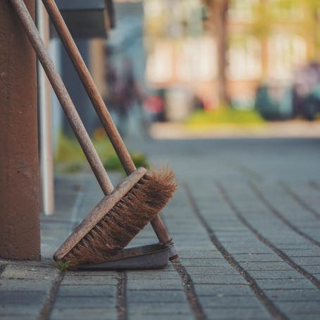 Spring is Here! Street Clearing as well!