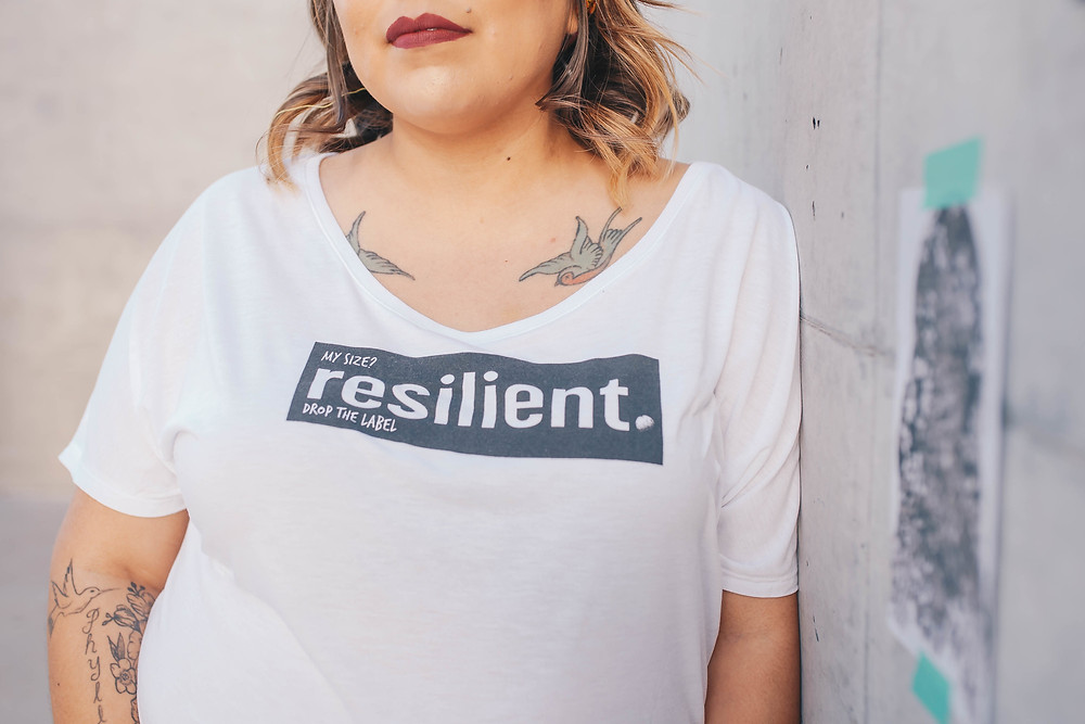 Woman Wearing Resilient T-Shirt