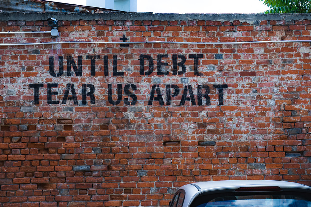 Need to divide up debt in a divorce, who is responsible?