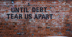 What happens to debt in a divorce?