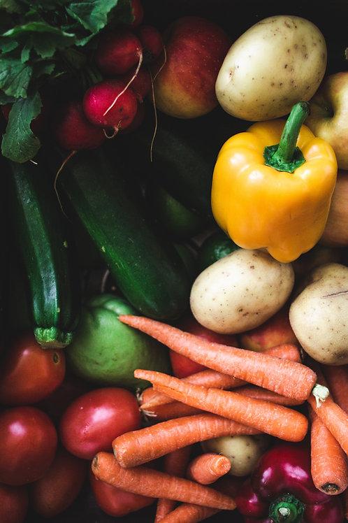 Organic Weekly Essentials Box - Family