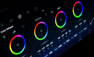 video editing, post-production, color correction