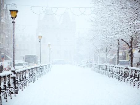Heavy snow across southern Manitoba & SE Saskatchewan