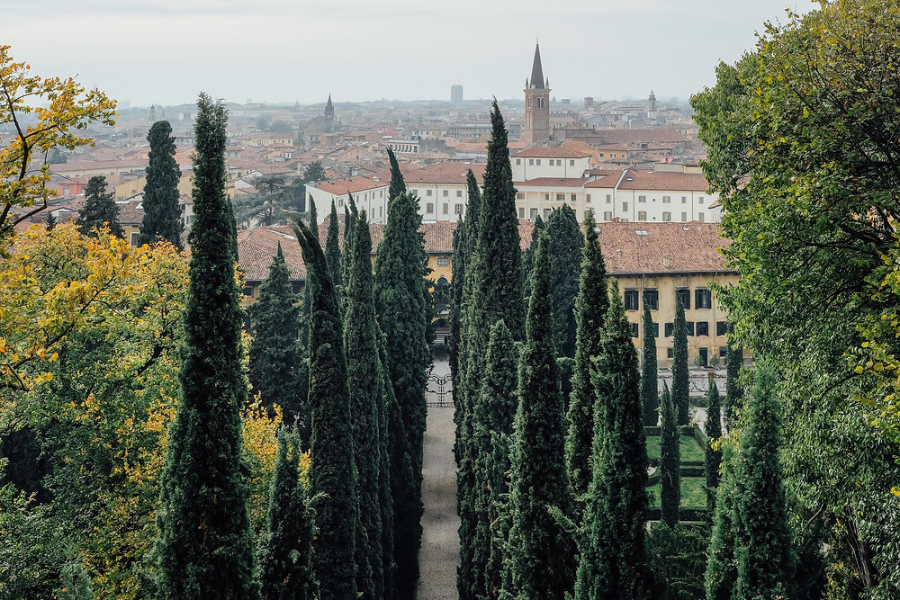 View from the Belvedere of Giardino Guisti
