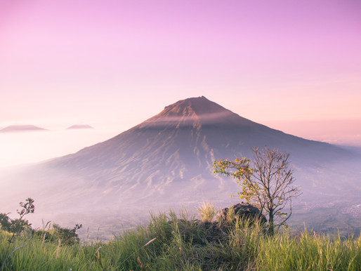 Volcano Eruption in Indonesia