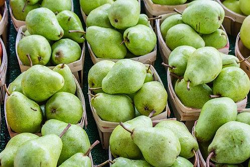 Pistachio Pear Tart