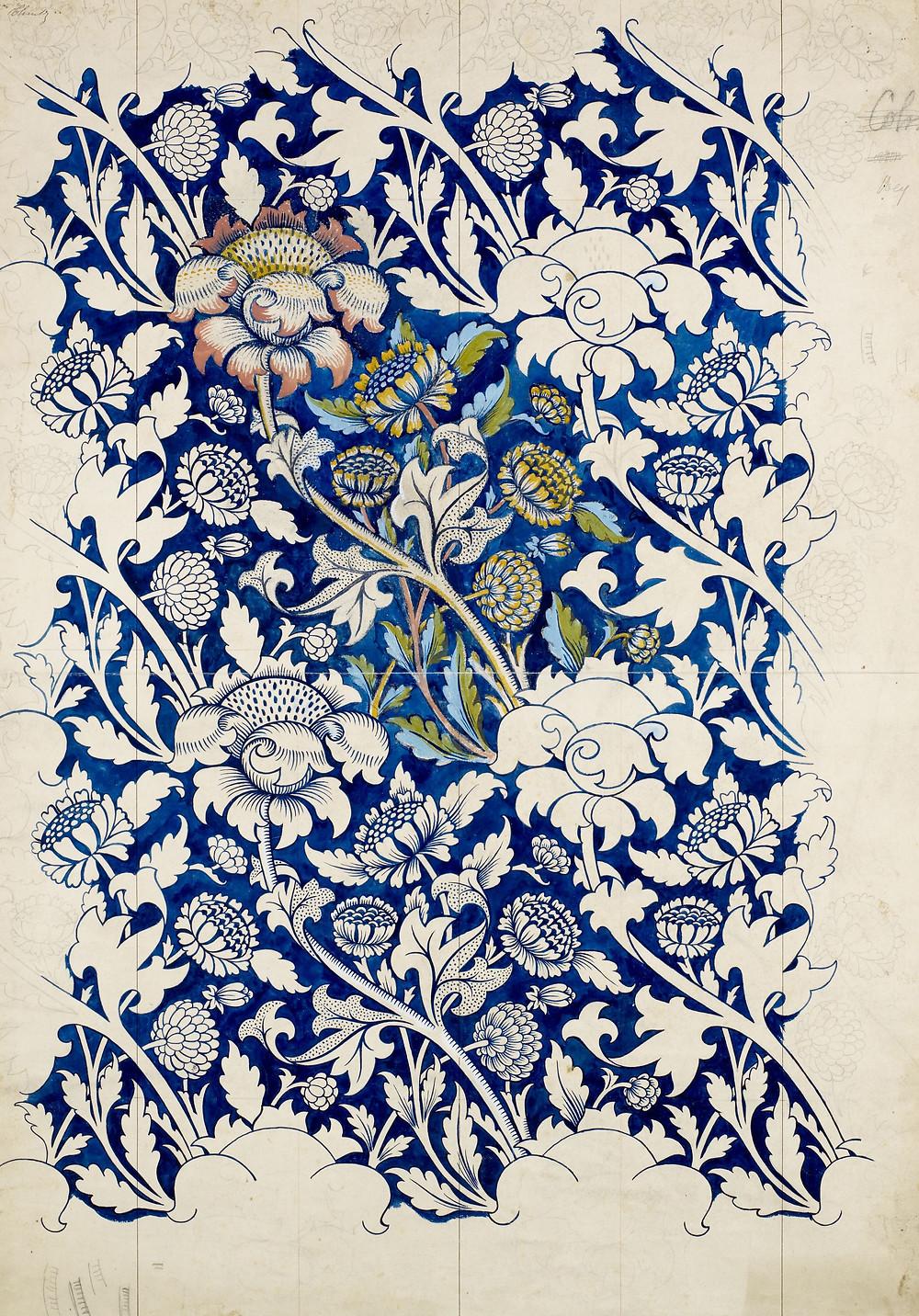 Morris wallpaper design
