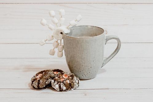 PUODUKAS rankų darbo keramikinis puodelis
