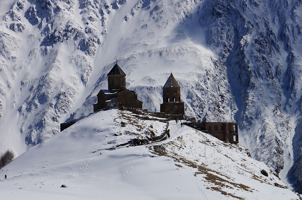 Monastery in the Caucasus