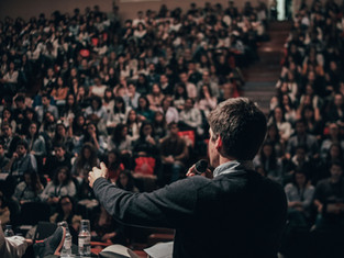Get paid to talk with a career in Public Speaking.
