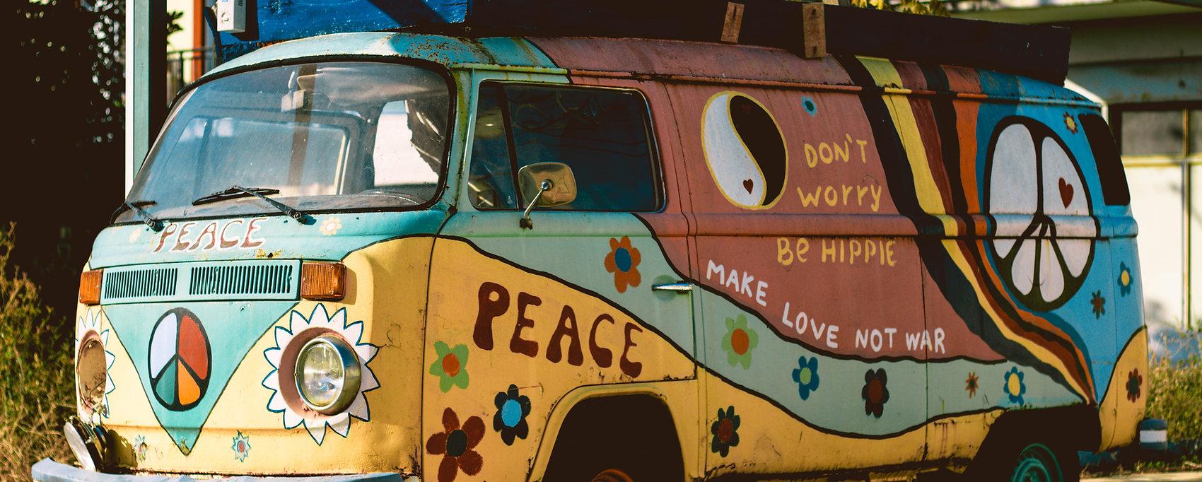 Hippie - Der Spirit des Summer of Love des Jahres 1967 | Anders reisen, alternative Reisen, Reisetrends, außergewöhnliche Reisen, exklusive Reisen