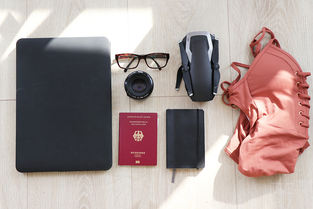 Passport and other important documents should be place somewhere safe and easily accessed