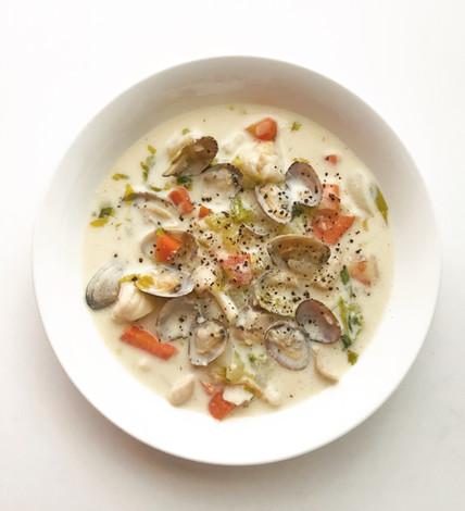 Creamy Clam Soup