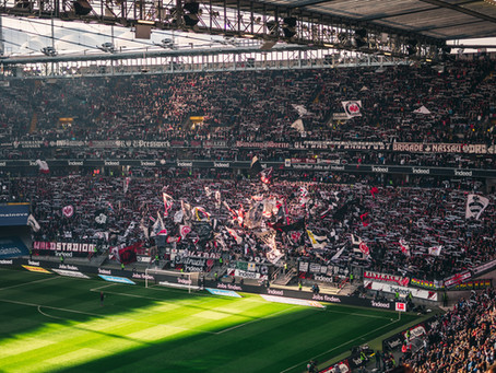 Borussia Mönchengladbach has fans in the stadium, (sort of)