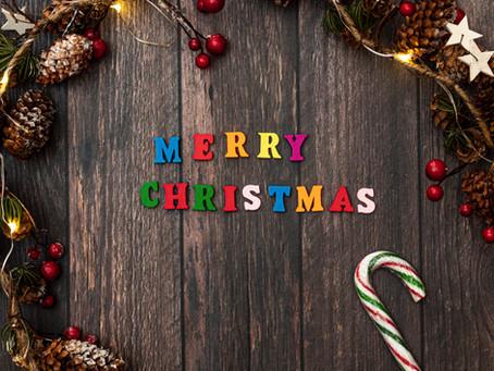 Merry Christmas & Happy 2021