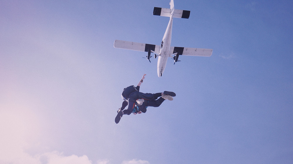 Skydiving is the top thing to do in Swakopmund
