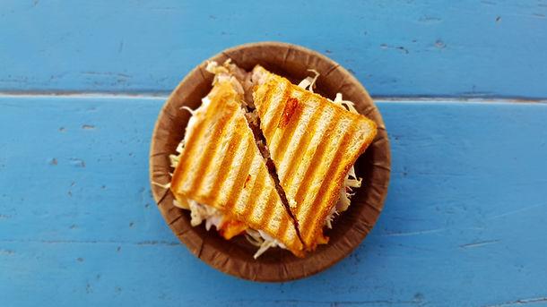 Easy Tomato Cheese Toasts