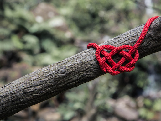 Untying Knots and Locating Grief: Using GR Insights to Accept Loss