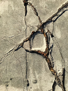 line striping cracks