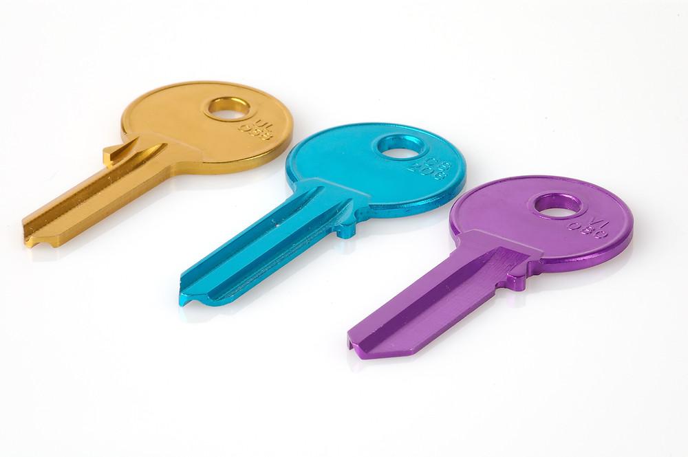 blank keys - broken keys