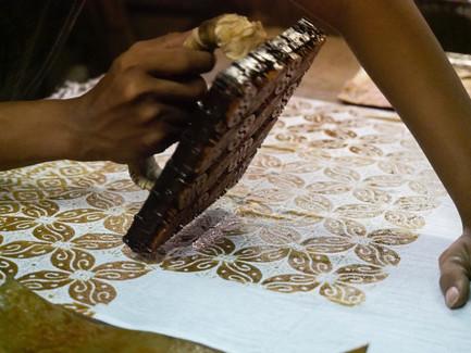 Batik Stamping - Agto Nugroho
