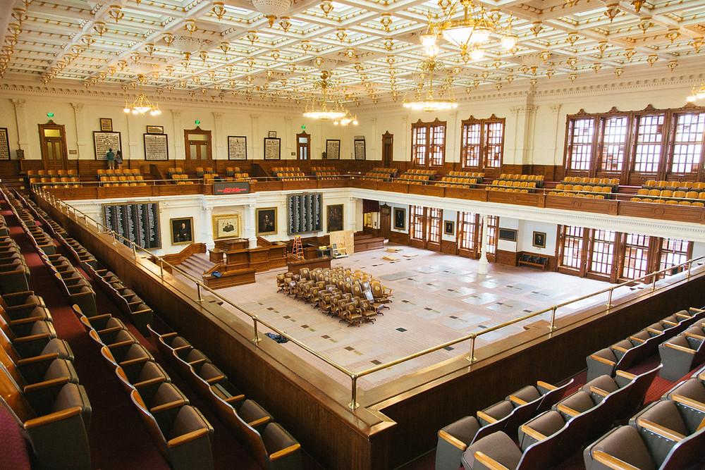 State Capitol building Texas legislature