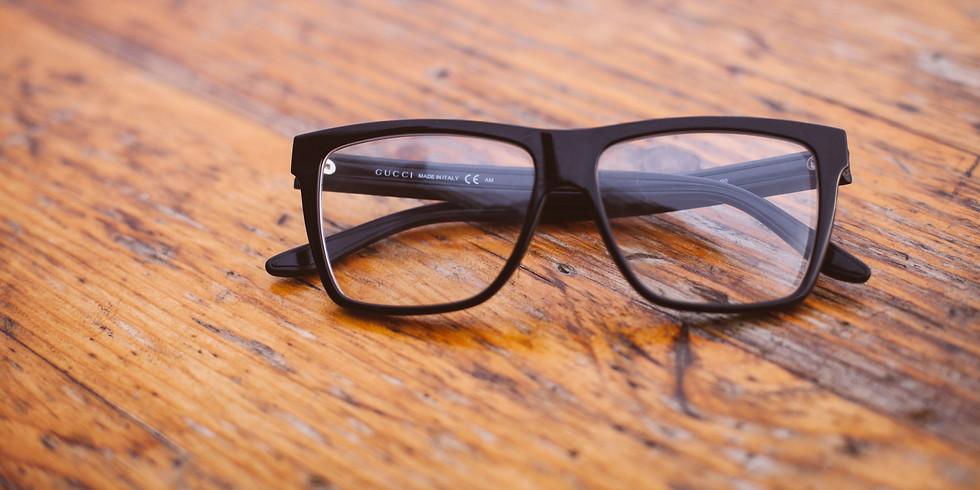Eyeglass and Blanket Drive