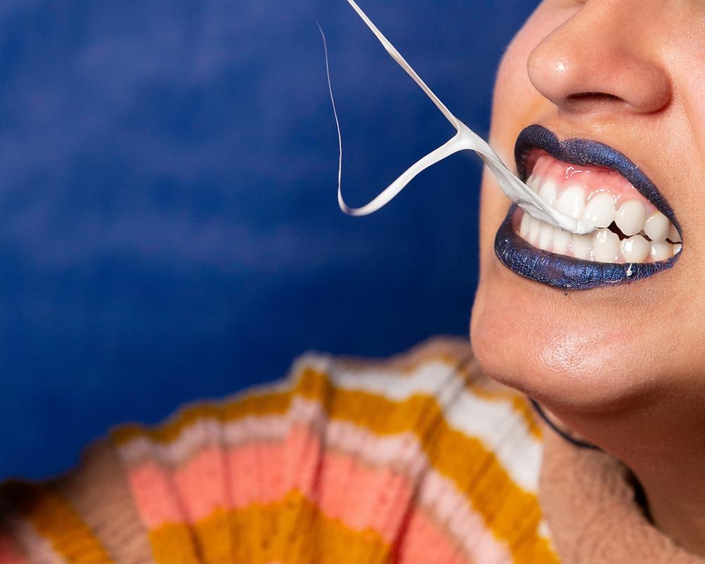 M.A.D Organics sodium bicarbonate white teeth brush teeth