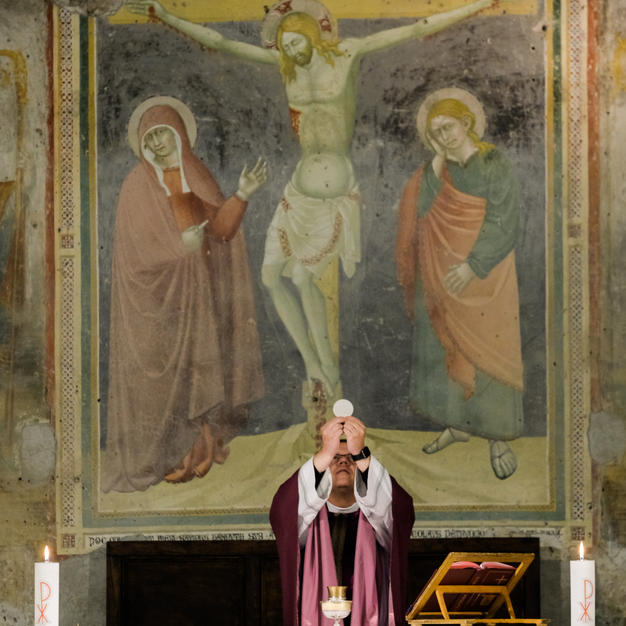 Receive the Eucharist