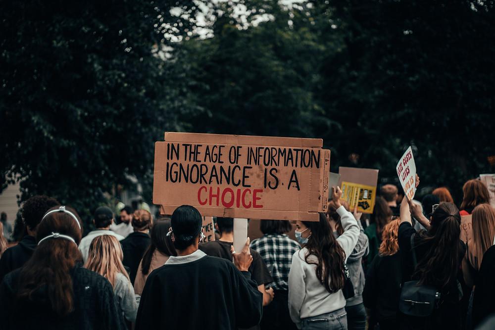 Gen Z protesting