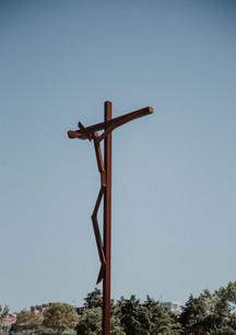 Cruz de Cristo em Santuário de Fátima