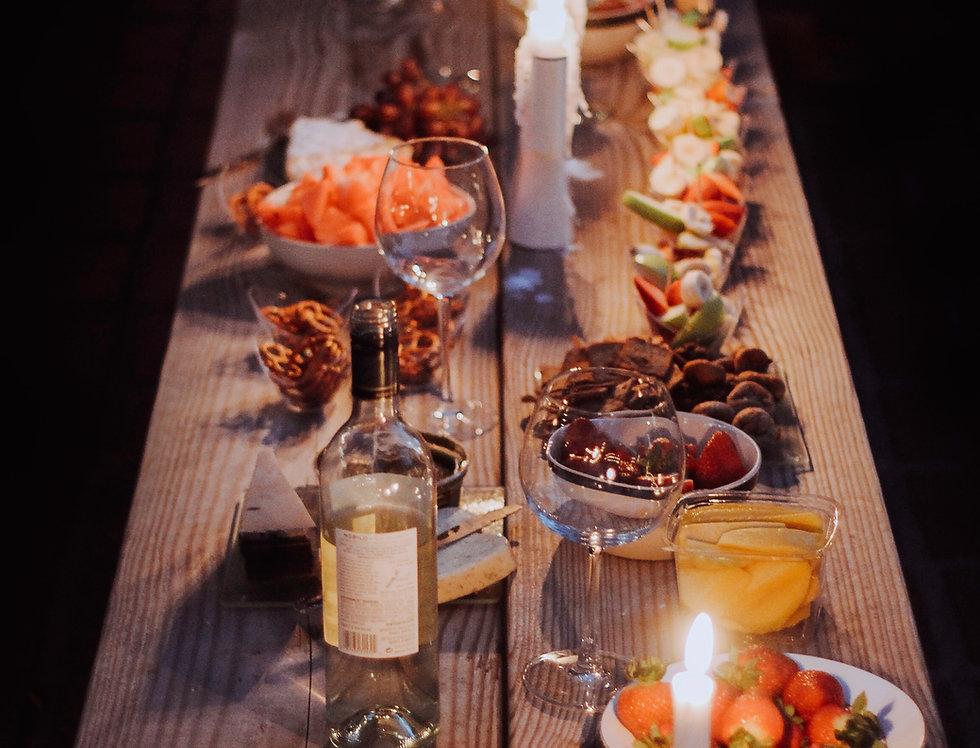 Cena servita in discoteca - capodanno a Firenze