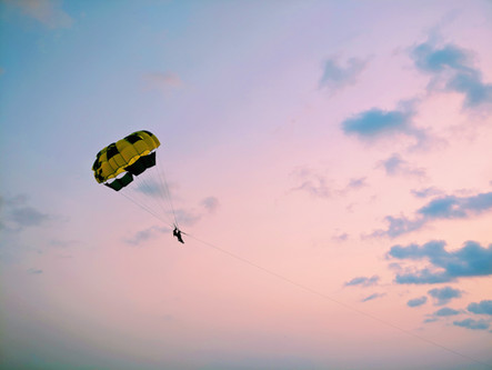 Jump with or without a parachute