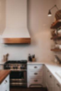 Beautiful white kitchen renovation in Fairfield County.