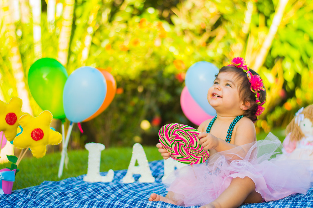 Kids Birthday Party Outdoors