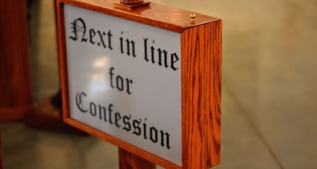Reconciliation: My 1st Trip to Confession